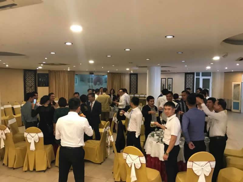 Buổi lễ chuyển giao sang nhiệm kỳ IV của VEC Diamonds Group