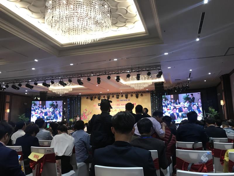 Doanh nghiệp thành viên VEC tham gia Hội nghị xúc tiến đầu tư Nghệ An 2019